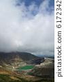 錐 爐頭 火山口 6172342