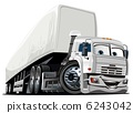Vector cartoon truck 6243042