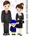 入学典礼男孩家庭 6284222