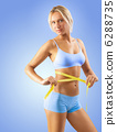 measuring, sporty, body 6288735