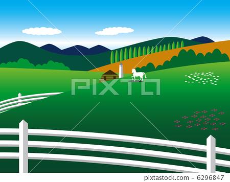 Hokkaido - ranch 6296847