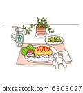 線圖標1  - 食物 6303027