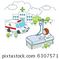 간단한 일러스트 1- 의료 6307571