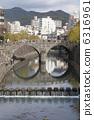 สะพานแว่นตาในนางาซากิ 6316961