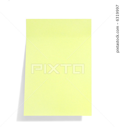 yellow sticky note with shade 6319997