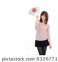 woman, japanese fan, lady 6326771