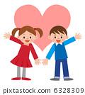 情人节 情人 小学生 6328309