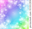 Fantastic rainbow-colored background 6330289