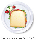 sandwich, sandwiches, white 6337575