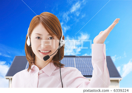 Operator and solar power generation 6339224