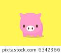 pig, pigs, animal 6342366