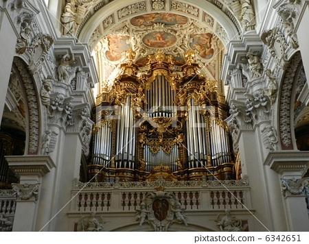 世界上最大的聖斯蒂芬大教堂管風琴在帕紹慕尼黑帕紹帕紹附近的古城 6342651