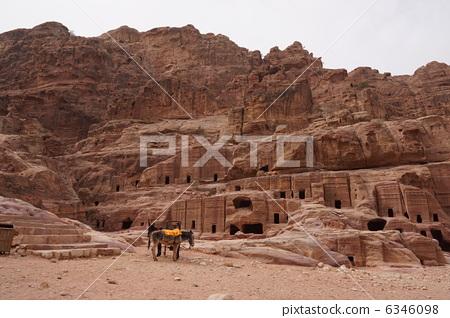 페트라 유적 아우터 검색 6346098