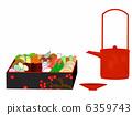 osechi, traditional, japanese 6359743