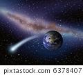 地球和彗星 6378407