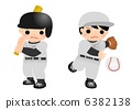youth, baseball, batter 6382138