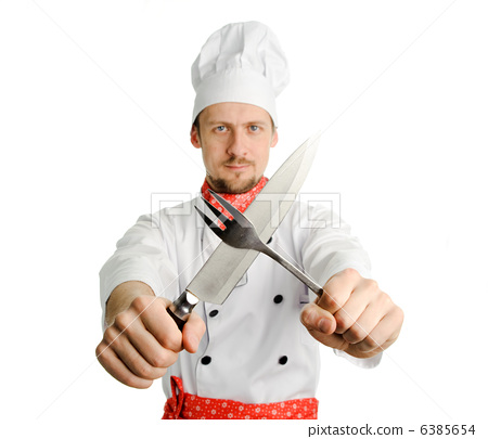 Chef with tools 6385654