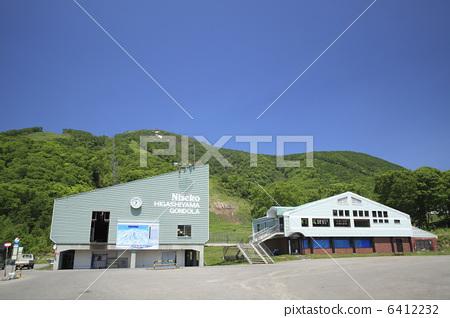 Niseko Higashiyama ski area in early summer 6412232