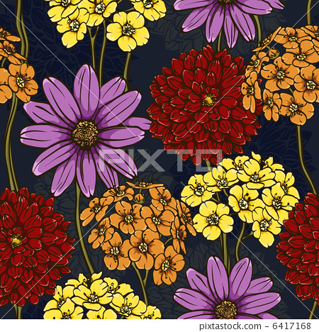 floral seamless pattern 6417168