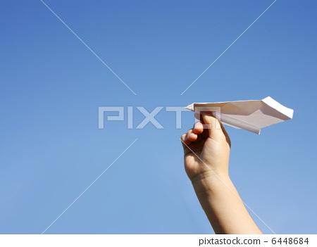 종이 비행기 6448684