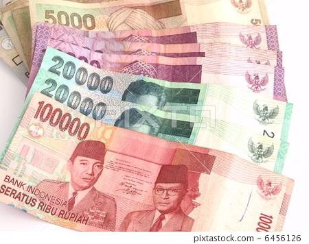 印尼盾紙幣 6456126