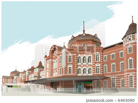Tokyo Station Marunouchi Station building 6465090