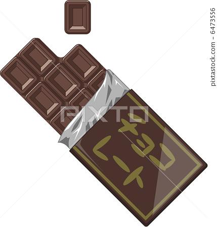Bar of chocolate 6473556