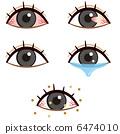 Illustration set of eyes 6474010