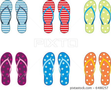 Beach slippers 6488257