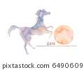 马和日出 6490609