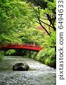 초가을의 풍경 (청류와 붉은 다리) 6494633