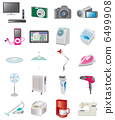Various electrical appliances 6499908