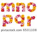字母 p 花朵 6501108