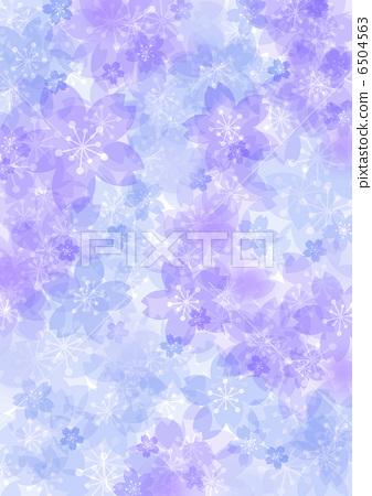 Spring image Sakura Blue 6504563