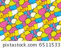 泡沫背景 6511533