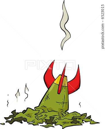 Broken rocket - Stock Illustration [6523015] - PIXTA