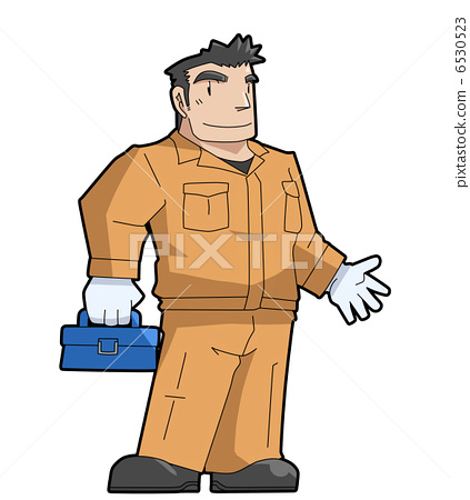 Worker at the factory 6530523