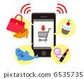 用智能手機購物 6535735