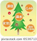 杉木花粉 松林 花粉 6536713