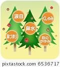 杉木花粉 花粉過敏 日本柳杉 6536717
