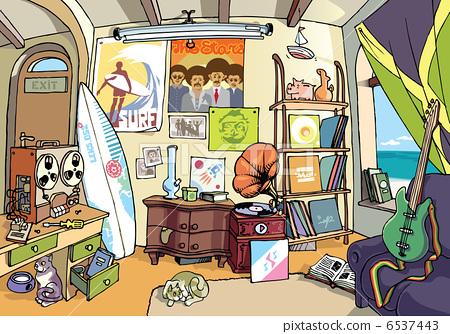 Surfer's Room 6537443