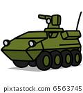 "Simple illustration ""Car 48 Armored Car"" 6563745"