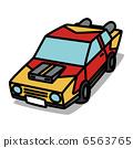 """간단한 일러스트 「자동차 30 개조 기계 """" 6563765"""