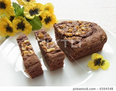 Handmade cake chocolate brownies 6594548