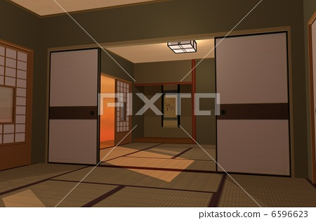 Japanese style room 6596623