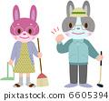 老人 兔 野兔 6605394