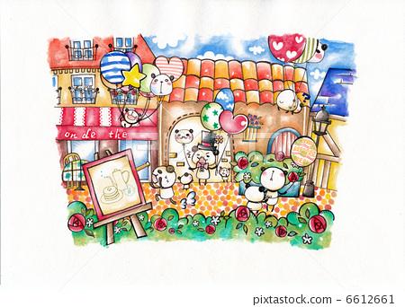팬더 카페 6612661