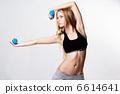 การออกกำลังกาย,แข็งแรง,ยิม 6614641