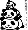 熊貓家庭 6646124