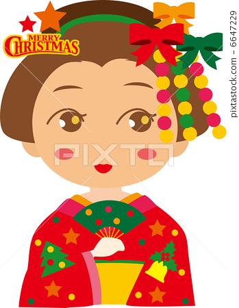 마이코 짱 ★ 12 월 크리스마스 6647229
